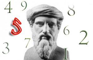 Numerologiens far, Pythagoras.