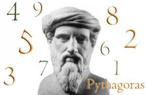 "Pythagoras kalles ""Numerologiens far""."