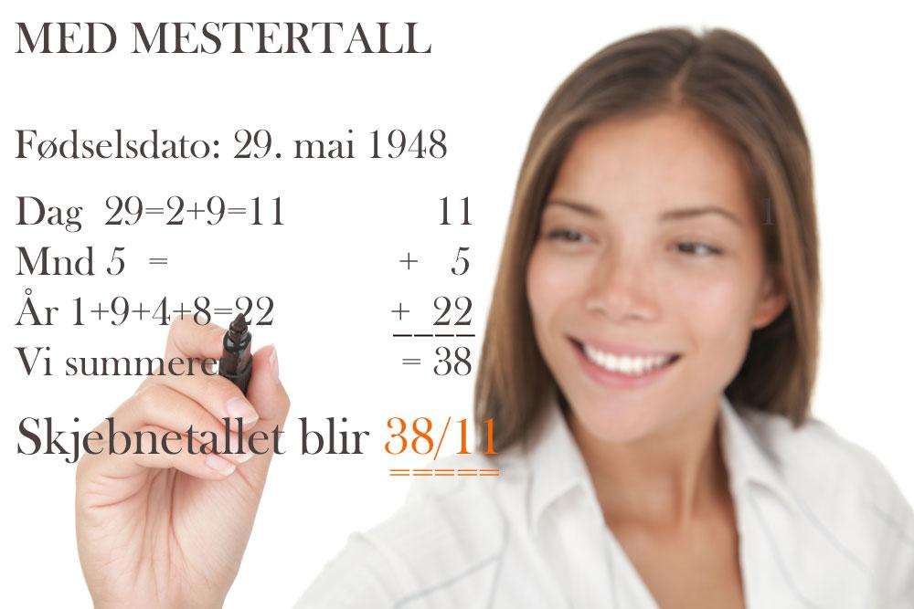 Slik beregner man med mestertall i kalkulasjonen