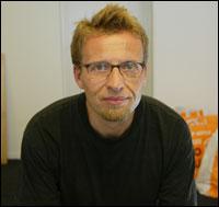 BILDET KOMMER FRA SCANPIX DATABASE, Oslo. Daglig leder Per Kristian Dotterud ved Norges første manns-senter. Foto: Tom-Egil Jensen.