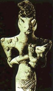 Bilde av en Annunaki.