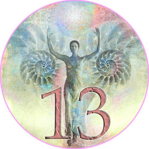"""Tallet 13 kalles også """"Gudinnetallet""""."""