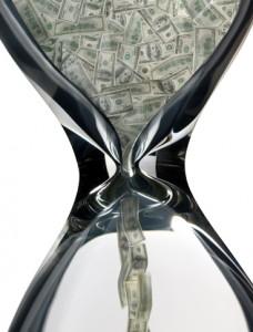 Tid er penger, fordi jaget etter penger de fleste mennesker bruker tiden sin på.