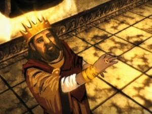 Symbolene i Solomons ring gav han visstnok uante krefter.