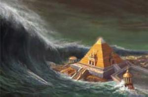 I følge Colliers infomasjon ble Atlantis og Lemuria ødelagt i år 31017 før Kristus.