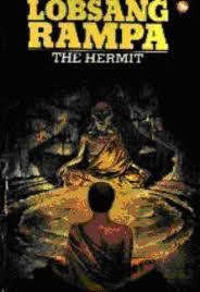 """Boken """"Eremitten"""" av Rampa."""