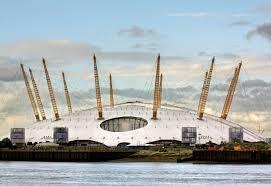 """Slik ser en """"dome"""" ut. Her bilde av Olympiske stadion i London, hvor sommerlekene i 2012 ble arrangert. Den hadde også 12 antenner"""