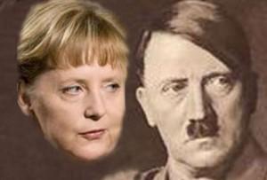 To av Tysklands rikskanslere. Ganske så like.