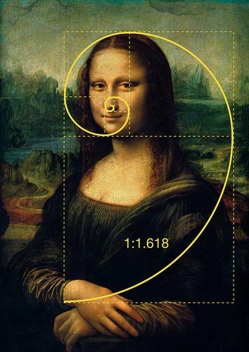 Verdens mest berømte bilde, Mona Lisa.