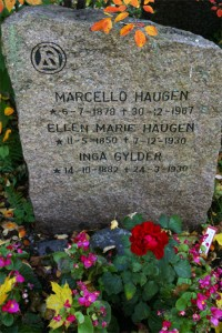 Marcello Haugen døde 30.desember 1967.