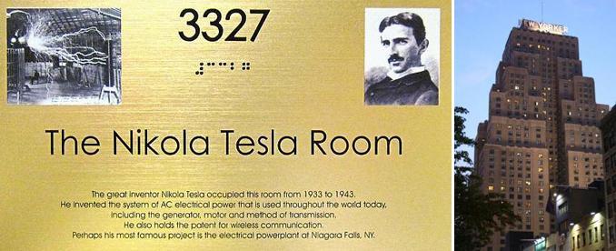 Tesla hadde en forkjærlighet for tallet 3.