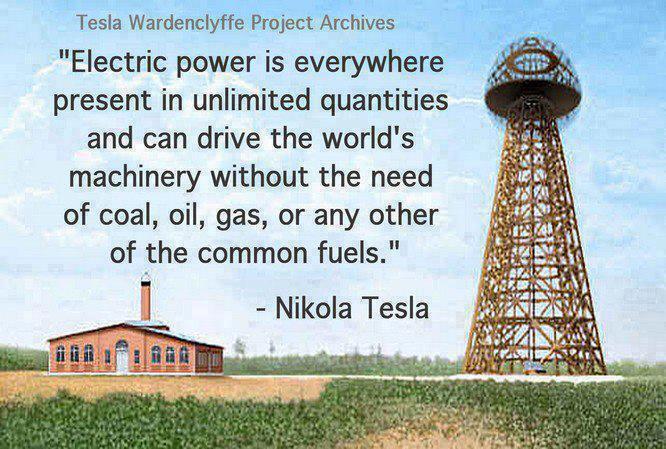 Tesla var en klok mann.