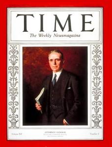 Her ser vi han på forsiden av Time.