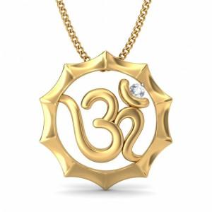 """Symbolet for mantraet og lyden""""Om/Aum""""."""