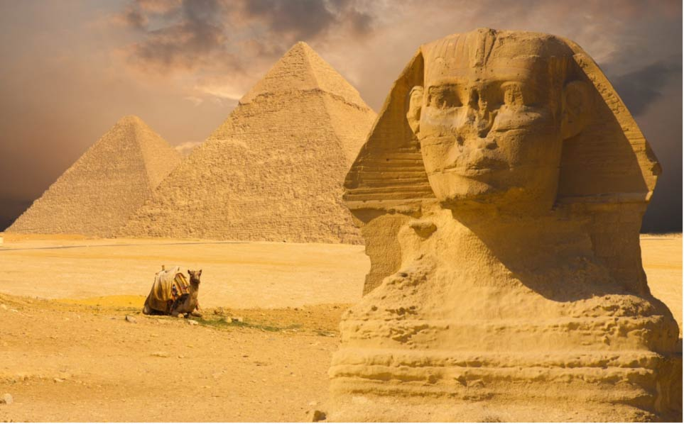 Sphinx-and-Great-Pyramids